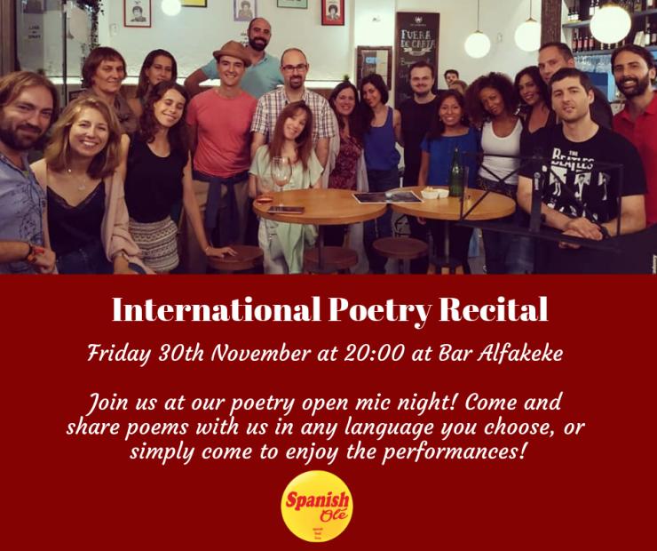 Poetry Recital